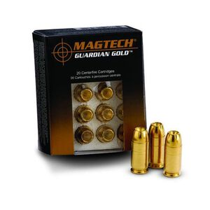Magtech Guardian Gold .38 Special +P Ammunition 20 Rounds JHP 125 Grains GG38A