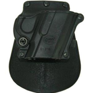 Fobus Compact Holster 1911 Pistols/Hi-Power/Kahr K40,K9/Remington R51 Right Hand Paddle Attachment Polymer Black