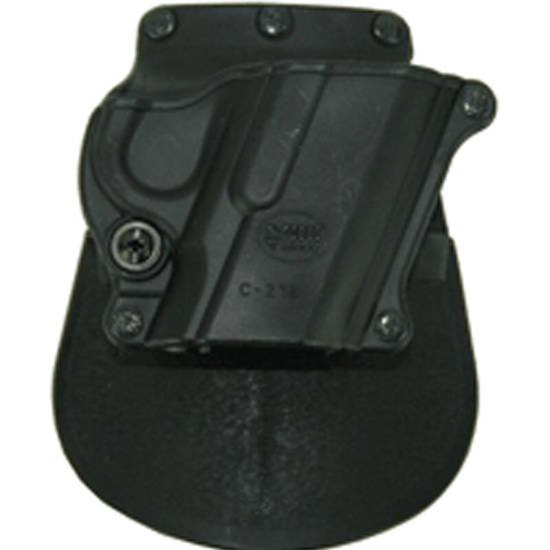 Fobus Compact Paddle Holster 1911/Hi-Power Right Hand Polymer Black C21B