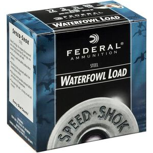 "Federal Speed-Shok 12 Ga 3"" #2 Steel 1.125oz 250 Rounds"