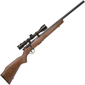 "Savage Model 93R17GVXP Package Series Rimfire Bolt Action Rifle .17 HMR 21"" Barrel 5 Rounds Mounted Riflescope Walnut Stock Blued Barrel"
