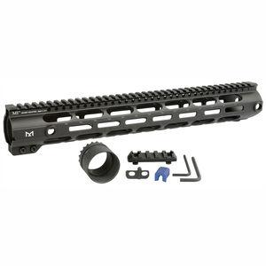 "Midwest Industries AR-10 Combat Rail 15"" Free Float Hand Guard M-LOK DPMS Low Profile Black"