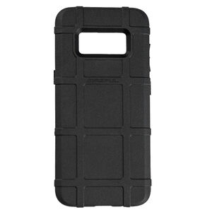 Magpul Field Case Samsung Galaxy S8 Flexible Thermoplastic Elastomer With PMAG Style Ribs For Grip Black