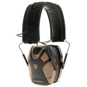 Caldwell E-Max Pro Electronic Earmuffs 23dB NRR Flat Dark Earth 1099603