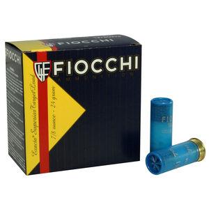 """Fiocchi Exacta Target Line Low Recoil Trainer 12 Gauge Ammunition 2-3/4"""" #7.5 Shot 7/8oz Lead 1200fps"""