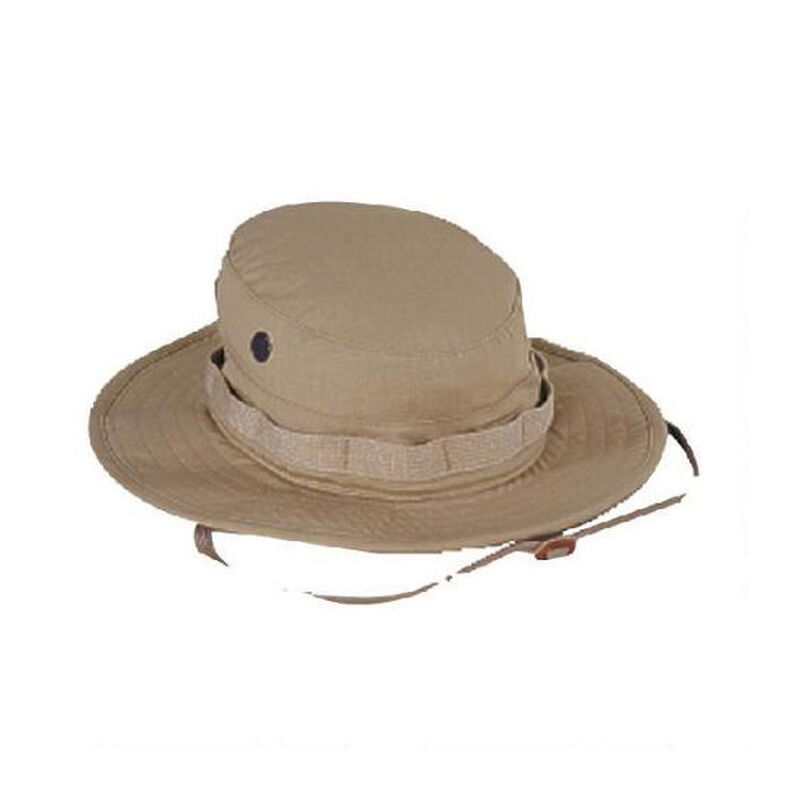 Voodoo Tactical Boonie Hat Cotton Ripstop Size 7.75 Khaki
