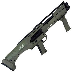 "Standard Manufacturing DP-12 12 Gauge Double Barrel Pump Action Shotgun, 18 7/8"" Barrels, 16 Rounds, OD"