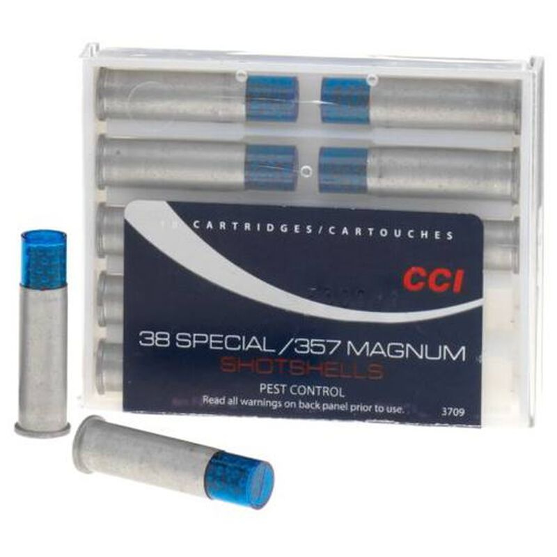 CCI Shotshell .38 Special Ammunition 10 Rounds #9 Shot