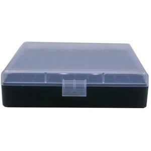 Berry's Ammo Box .40/45 ACP/10mm 100 Round Polymer Clear/Black