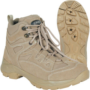 "Voodoo Tactical 6"" Tactical Boot Nylon/Leather Size 10 Wide Khaki Tan 04-9680083171"