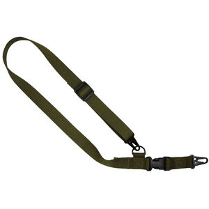 "US Tactical C1: 2-to-1 Point Tactical Sling Ambidextrous 1.25"" Wide OD Green"