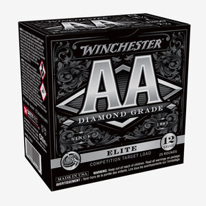 "Winchester AA Diamond Grade 12 Gauge Ammunition #7 Plated Lead 1 oz  2-3/4"" Shell 1350 fps"