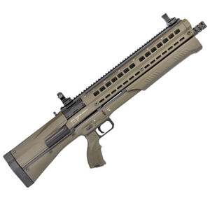 "UTAS UTS-15 Pump Action Shotgun 12 Gauge 18.5"" Barrel 3"" Chamber 14 Rounds Polymer Body OD Green PS1OD1"