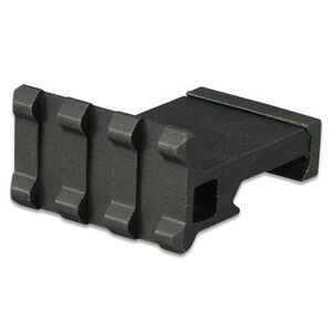 "Lion Gears AR-15 Tactical Angle Mount 90° 3 Slots 1.37"" Long Aluminum Black BM03D90"