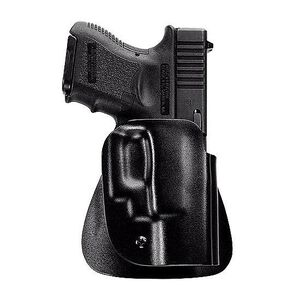 Uncle Mike's Kydex Paddle Holster Size 20 OWB GLOCK 17/19/22/23/31/32 Left Hand Polymer Black