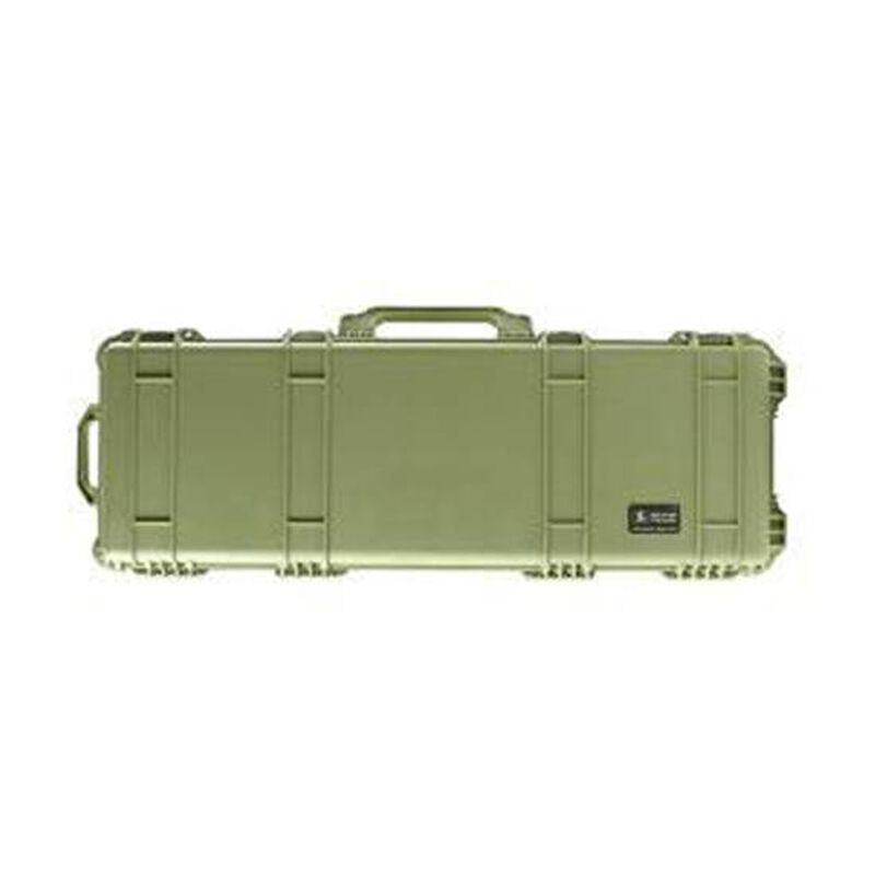 "Pelican 1750 Protector Wheeled Rifle Case 53"" Foam Interior Polymer OD Green 1750-000-130"