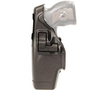 BLACKHAWK! SERPA Level 2 Duty Holster X-26 Taser Left Hand Polymer Black 44H015BK-L