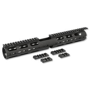 Leapers UTG PRO AR-15 Drop-In Quad Rail Extended Carbine Length Aluminum Black MTU015
