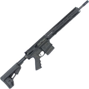 "Stag Arms Model 10S AR-308 Semi Auto Rifle .308 Win 10 Rounds 16"" Barrel M-LOK Compatible Handguard Collapsible Stock Black"