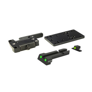 Meprolight MicroRDS Sig Sauer P226 Quick Detach Adapter and Backup Sights Black ML881502