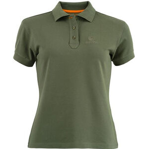 Beretta Special Purchase Women's Corporate Polo Short Sleeve Large Cotton Green