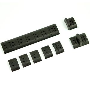 Noveske NSR Rail Cover Panel Kit Black NSR-BP-BLK