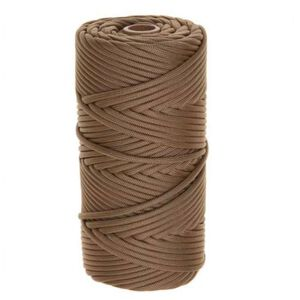 Tac Shield 550 Paracord 7 Strand Nylon Braided 200' Coyote 03022
