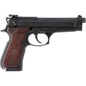 "Beretta 92FS Victory 9mm Luger Semi Auto Pistol 4.9"" Barrel 17 Rounds Target Sights Wood Grips Blued Finish"