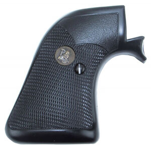 Pachmayr Presentation Grips Ruger Blackhawk Checkered Rubber Black 03137