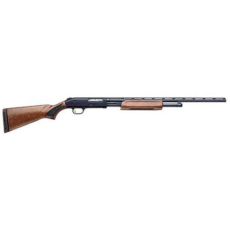 "Mossberg 500 Pump Action All Purpose Field Shotgun 20 Gauge 26"" Barrel 5 Rounds Wood Stock Blued Finish 50136"