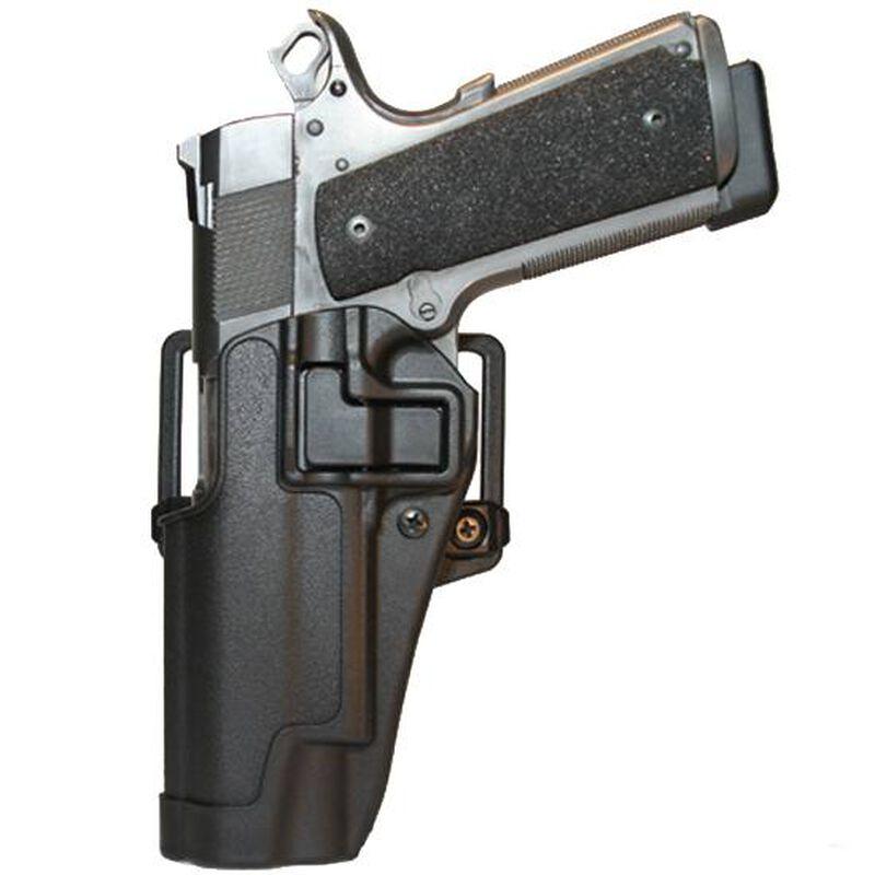 BLACKHAWK! SERPA CQC Belt/Paddle Holster 1911 Government Left Hand Polymer Carbon Fiber 410503BK-L