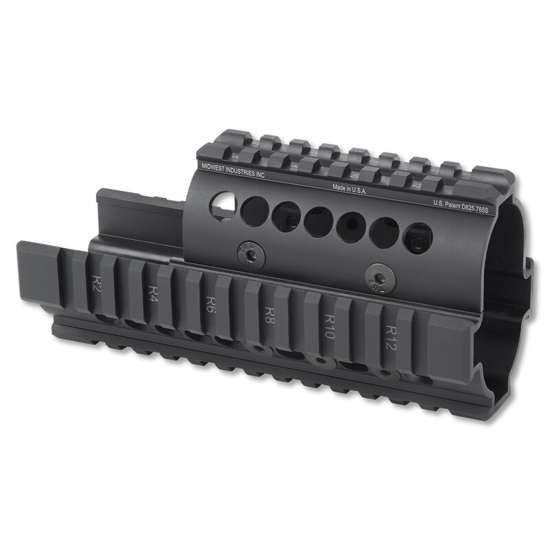 Midwest Industries Kel-Tec PLR-16 Handguard Aluminum Black MI-PLR16