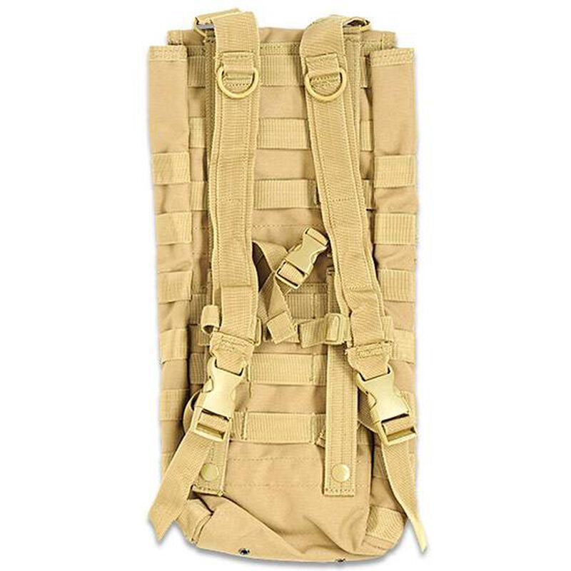 Voodoo Tactical Hydration Carrier with Removable Harness Coyote 20-74440
