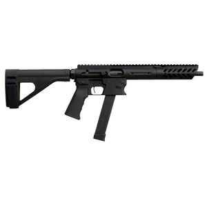 "TNW Aero Survival Pistol .45 ACP Semi Auto Pistol 10.25"" Barrel 26 Rounds GLOCK Style Magazine Free Float Hand Guard Pistol Stabilizing Brace Matte Black"