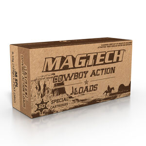 Magtech .38 Special Ammunition 50 Rounds LFN 125 Grains 38U