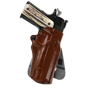 Galco Speed Master 2.0 Paddle Holster for Walther PPQ Right Hand Leather Tan