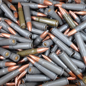 Variety Bag of 20 Rounds of 7.62x39 Steel Ammunition, 20 Rounds, Various Brands, Various Bullet Types and Grain Weight - Special Offer AS IS Not Returnable
