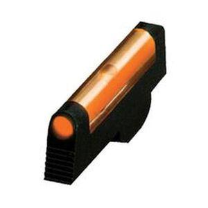 HiViz Front Sight S&W Revolver Orange Fiber Steel Black SW1002O