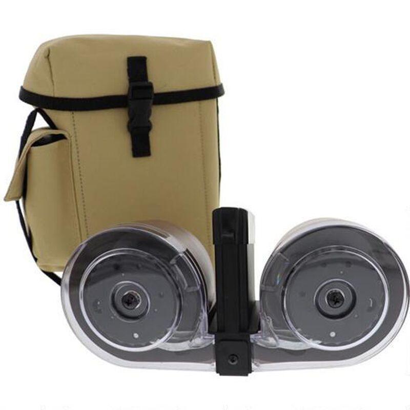 Iver Johnson AR-15 Drum Magazine .223/5.56 100 Rounds Polymer Tan MAGAR15100T