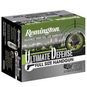 Remington Ultimate Defense .357 Mag Ammunition 20 Rounds 125 Grain JHP 1220fps