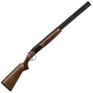 """CZ-USA Drake Over/Under Break Action Shotgun .410 Bore 28"""" Vent Rib Barrels 2 Rounds 3"""" Chamber Fixed IC/Mod Constriction Rate Turkish Walnut Stock With Pistol Grip Gloss Black Chrome Finish"""