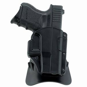 Glock 19 23 and 32 Galco M4X Matrix AutoLock Paddle Holster Right Hand Black Thermoplastic