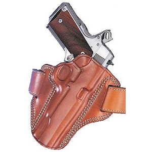 Galco Combat Master Belt Holster SIG Sauer P228/P229 & Taurus 24/7 Right Hand Leather Tan CM250