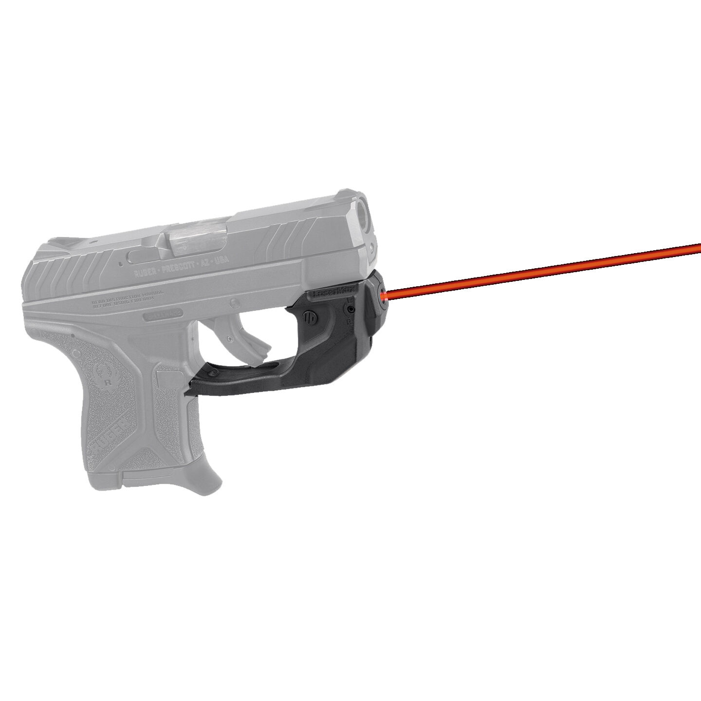 LaserMax CenterFire Laser Sight for Ruger LCP2 Red GS-LCP2-R