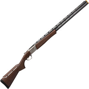 """Browning Cynergy CX O/U Break Action Shotgun 12 Gauge 30"""" Vent Rib Barrels 3"""" Chamber 2 Rounds Walnut Stock with Adjustable Comb Silver/Blued Finish"""