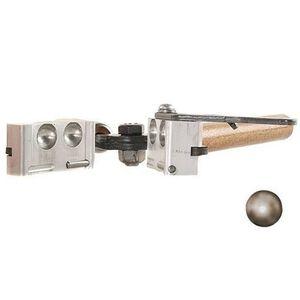 "Lee Precision .433"" Diameter 122 Grain Ball Double Cavity Mold Aluminum With Handles 90432"