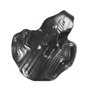 "DeSantis Thumb Break Scabbard S&W J Frame 2-1/4"" Barrel Revolvers Belt Holster Right Hand Draw Leather Black 001BAS1Z0"