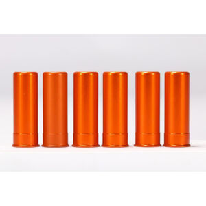 A-Zoom 12 Gauge Orange Snap-Cap Six Pack