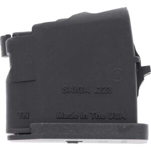 SGM Tactical SAIGA .223 Rifle Magazine 5 Rounds .223 Remington Polymer Matte Black