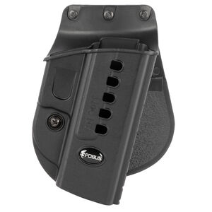 Fobus Evolution Paddle Holster SIG Sauer P250 OWB Right Hand Draw Polymer Construction Black Finish